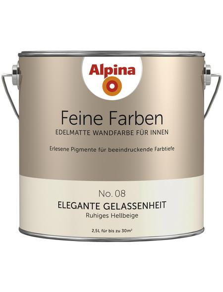 alpina Dispersionsfarbe »Feine Farben«, Elegante Gelassenheit, matt