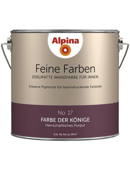 alpina Dispersionsfarbe »Feine Farben«, Farbe der Könige, matt