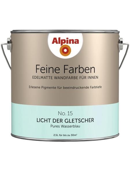 alpina Dispersionsfarbe »Feine Farben«, Licht der Gletscher, matt