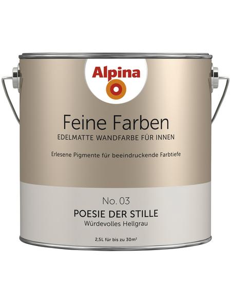 alpina Dispersionsfarbe »Feine Farben«, Poesie der Stille, seidenmatt