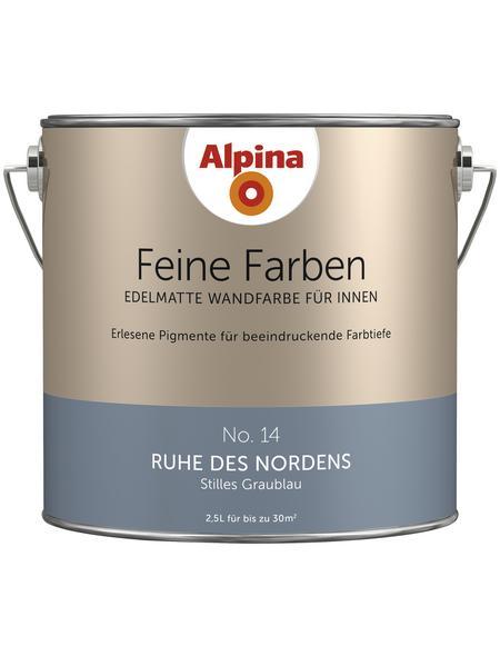 alpina Dispersionsfarbe »Feine Farben«, Ruhe des Nordens, matt