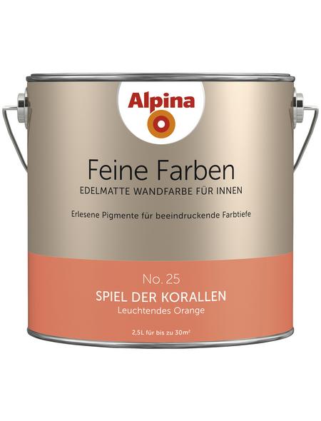 alpina Dispersionsfarbe »Feine Farben«, Spiel der Korallen, matt