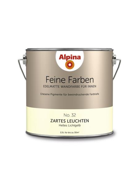 alpina Dispersionsfarbe »Feine Farben«, Zartes Leuchten, matt