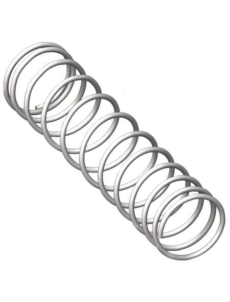 alfer® aluminium Druckfeder »Combitech«, Stahl, 2  Stück
