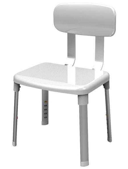 Dusch- und Badestuhl , Weiß