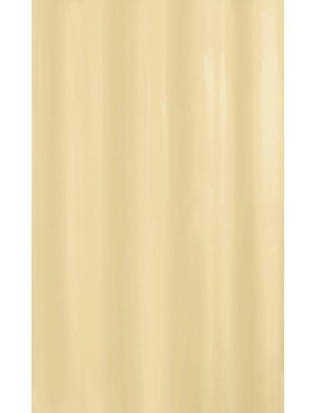 KLEINE WOLKE Duschvorhang »Kito«, BxH: 120 x 200 cm, Uni, natur