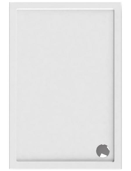 SCHULTE Duschwanne »ExpressPlus«, BxT: 80 x 120 cm, alpinweiß