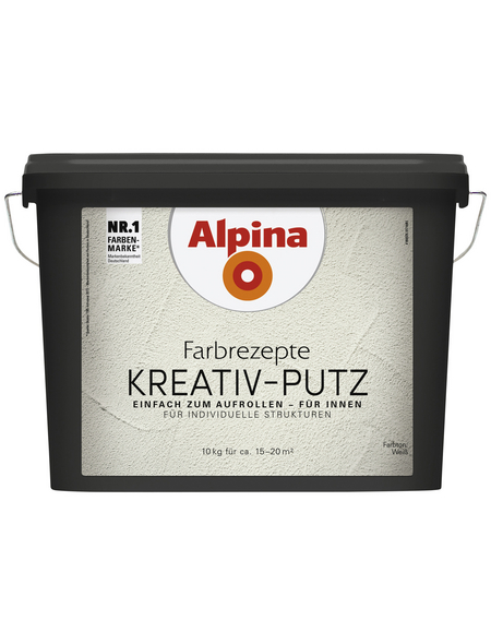 alpina Effektfarbe »Farbrezepte«, weiß