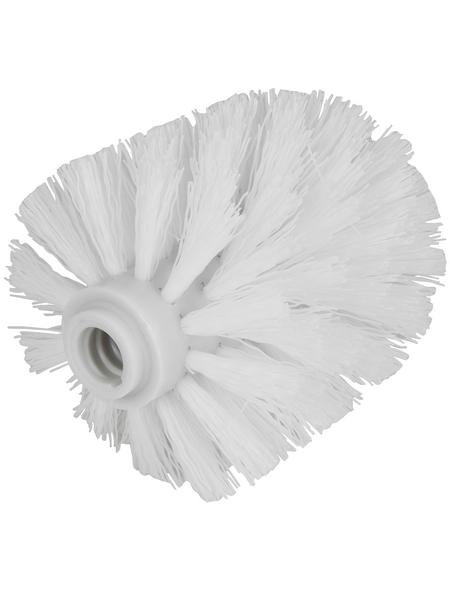 WELLWATER Ersatzbürstenkopf, Kunststoff, weiß