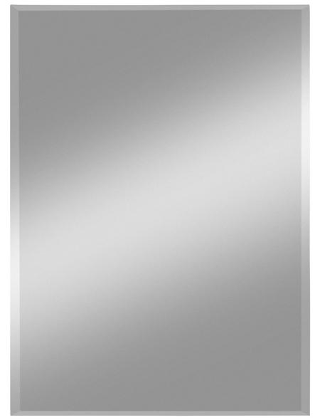 KRISTALLFORM Facettenspiegel »Gennil«, rechteckig, BxH: 40 x 60 cm, silberfarben