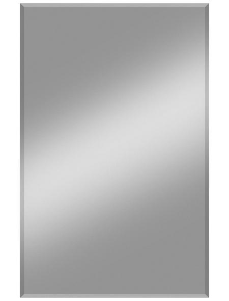 KRISTALLFORM Facettenspiegel »Gennil«, rechteckig, BxH: 50 x 110 cm, silberfarben