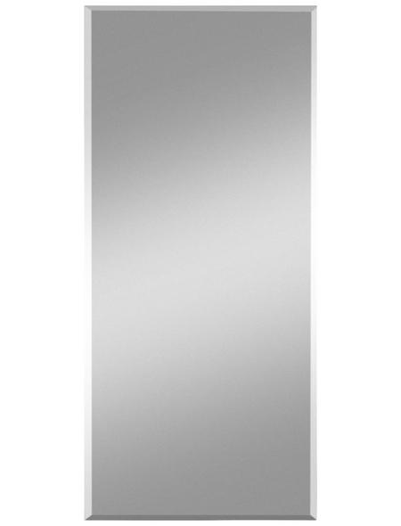 KRISTALLFORM Facettenspiegel »Gennil«, rechteckig, BxH: 55 x 70 cm, silberfarben