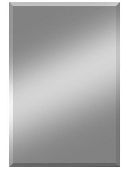 KRISTALLFORM Facettenspiegel »Gennil«, rechteckig, BxH: 60 x 100 cm, silberfarben