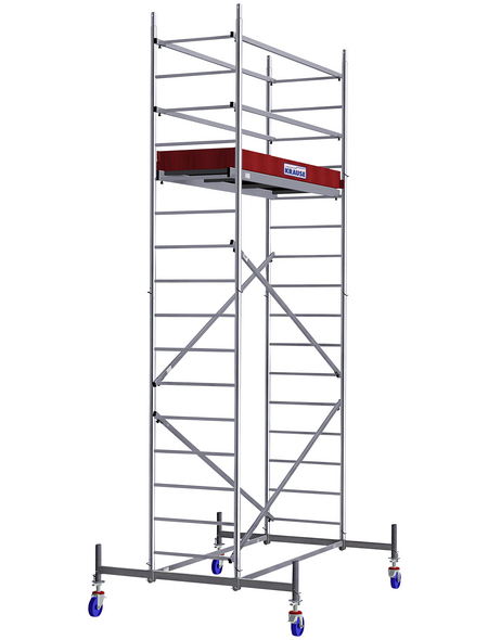 KRAUSE Fahrgerüst, PROTEC, Aluminium, 530 cm, 200x60 cm