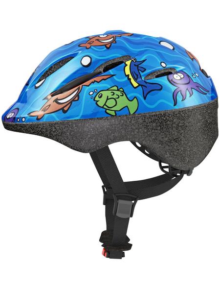 ABUS Fahrradhelm »Kids«, M (52 – 58 cm), blau