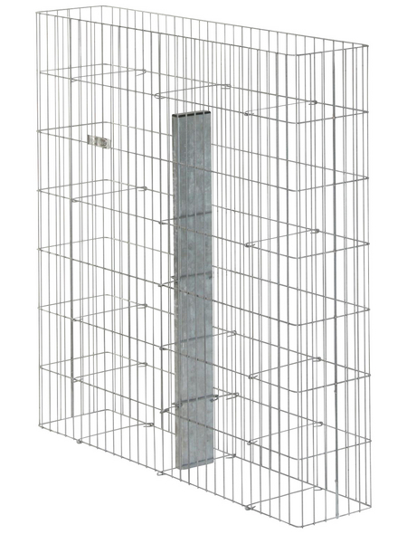 BELLISSA Fertiggabione »Pronto«, BxHxL: 23,5 x 105 x 102,5 cm, Stahl
