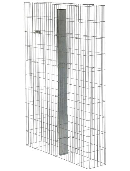 BELLISSA Fertiggabione »Pronto«, BxHxL: 23,5 x 150 x 102,5 cm, Stahl