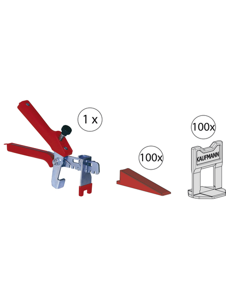 Fliesen Nivelliersystem, 13 mm, Kunststoff | Metall
