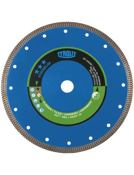 TYROLIT Fliesentrennscheibe, 115 mm, Fliesen & Keramik, 1 Stk.