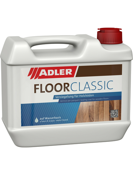 ADLER Floor-Classic, Transparent, Halbmatt, 5 l
