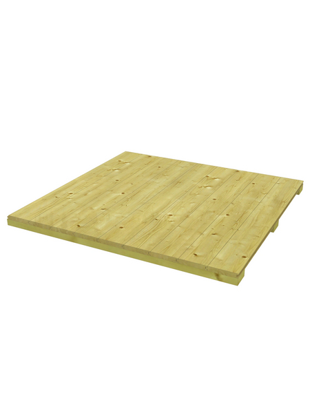 SKANHOLZ Fußboden »Sydney, Perth, Melbourne, Brisbane 3«, BxT: 253 x 253 cm, Nordisches Fichtenholz