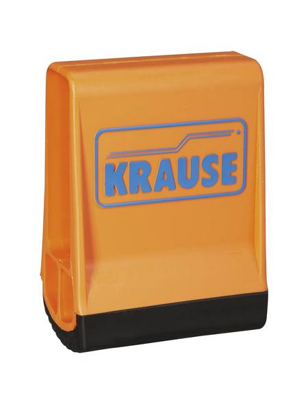 KRAUSE Fußkappe, BxHxT: 6,4 x 9,9 x 2,5 cm, Kunststoff, schwarz/orange