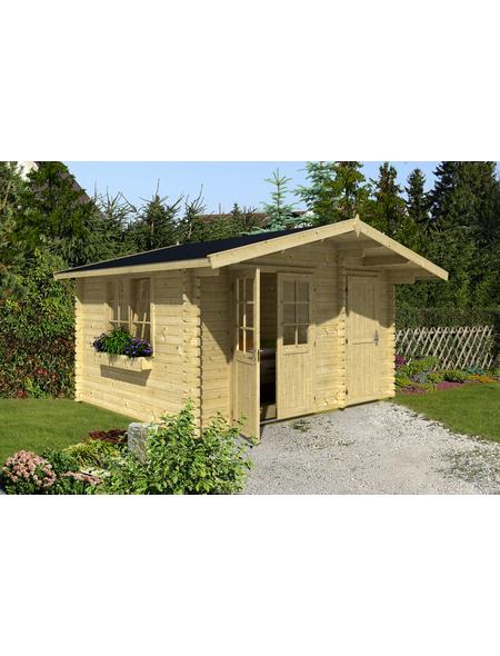 LASITA MAJA Gartenhaus »Borkum 5«, BxT: 445 x 490 cm (Aufstellmaße), Satteldach