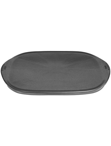WEBER Grillplatte, Keramik, BxH: 49,2 x 2,2 cm