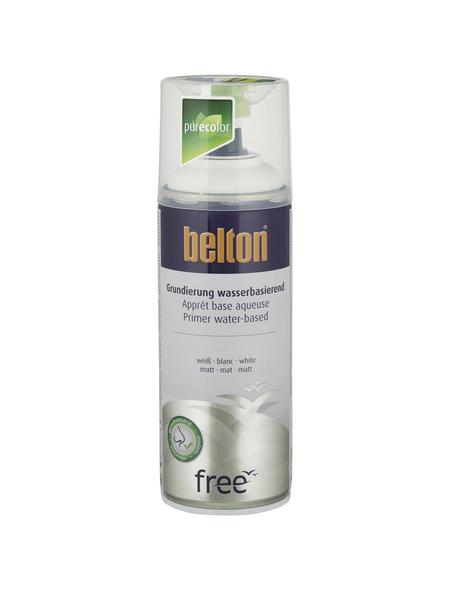 BELTON Grundierung »Free«, 400 ml, weiß