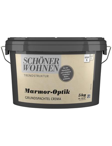 SCHÖNER WOHNEN FARBE Grundspachtel »Trendstruktur«, creme, 3 m²/kg