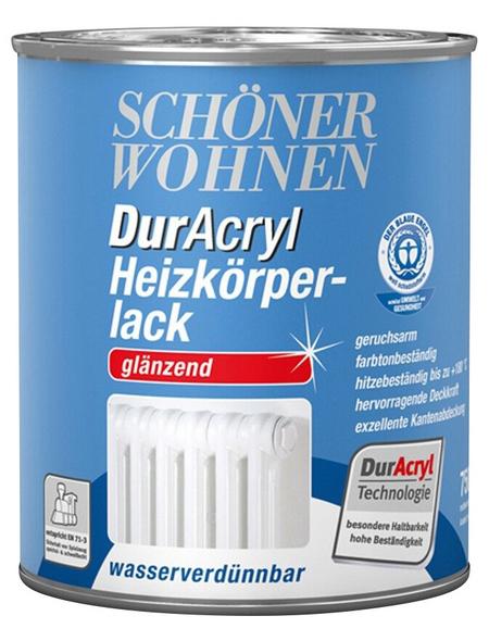 SCHÖNER WOHNEN FARBE Heizkörperlack »DurAcryl glänzend«, weiß , glänzend