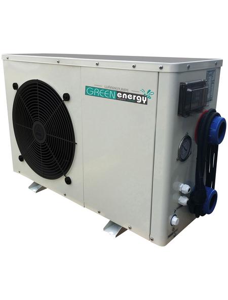 KWAD Heizung, max. Heizleistung: 9500 W, für Pools bis: 35 m³