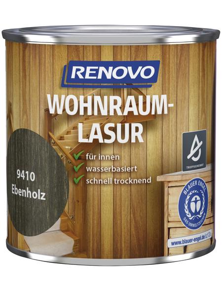 RENOVO Holzschutzmittel für innen, 0,375 l, Ebenholz, seidenglänzend