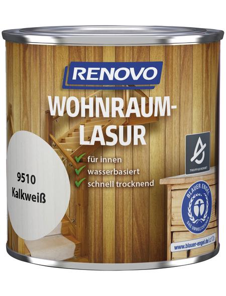 RENOVO Holzschutzmittel für innen, 0,375 l, kalkweiß, seidenglänzend