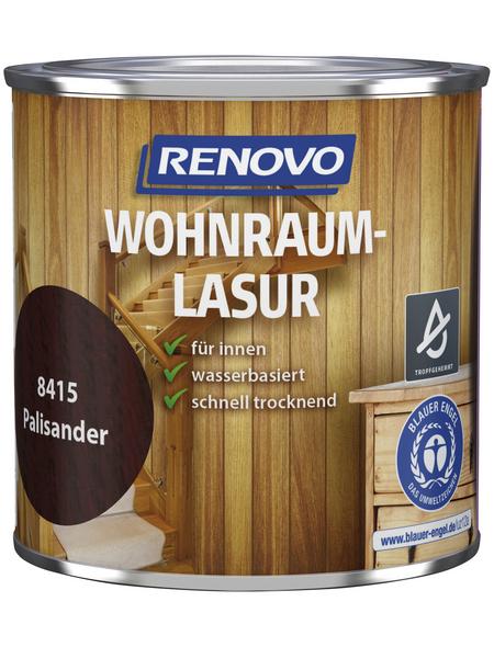 RENOVO Holzschutzmittel für innen, 0,375 l, palisanderbraun, seidenglänzend