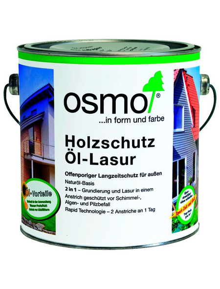 OSMO Holzschutzmittel, patinafarben, lasierend, 2.5l