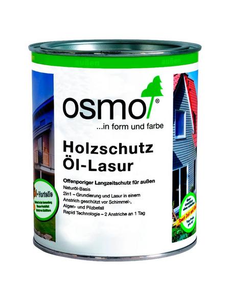 OSMO Holzschutzmittel, perlgrau, lasierend, 0.75l