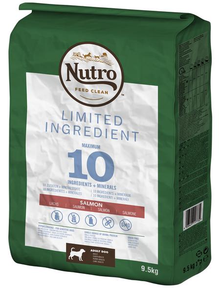NUTRO Hundetrockenfutter »Limited Ingredient «, 1 Beutel à 9500 g