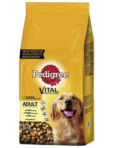 PEDIGREE Hundetrockenfutter »Vital Protection «, Inhalt: 15 kg, Huhn/Gemüse