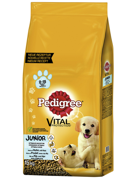PEDIGREE Hundetrockenfutter »Vital Protection Medium«, Inhalt: 15 kg, Huhn/reis