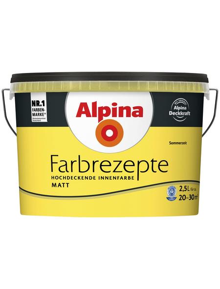 alpina Innenfarbe »Farbrezepte«, Sommerzeit, matt
