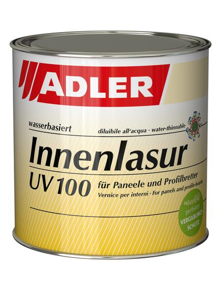 ADLER Innenlasur UV 100, Farblos, 0,75 l