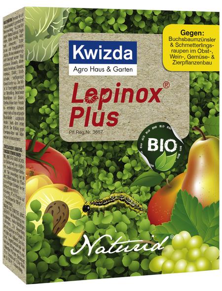 KWIZDA Insektizid »Lepinox plus Naturid«, 5 Beutel, schützt vor Buchsbaumzünsler