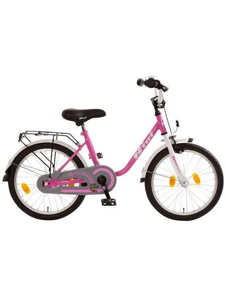 BACHTENKIRCH Kinderfahrrad »Bibi«, 1 Gang, U-Type Rahmen, Weiß-Pink
