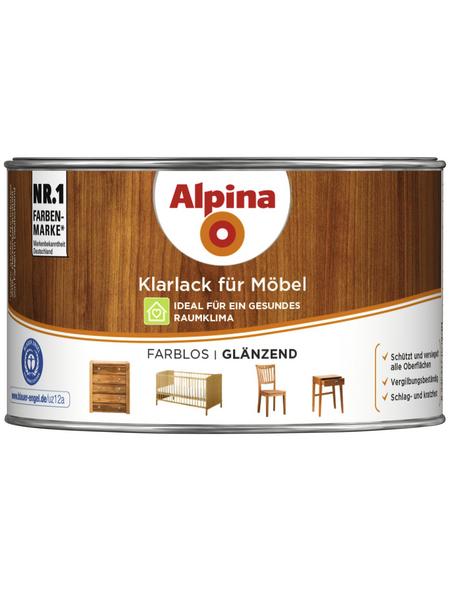 alpina Klarlack, für innen, 0,3 l, farblos, glänzend