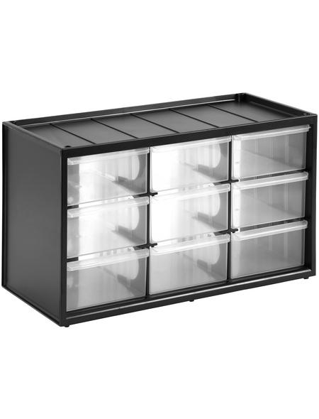STANLEY Kleinteilemagazin, BxHxL: 36,5 x 21,3 x 15,5 cm, Kunststoff