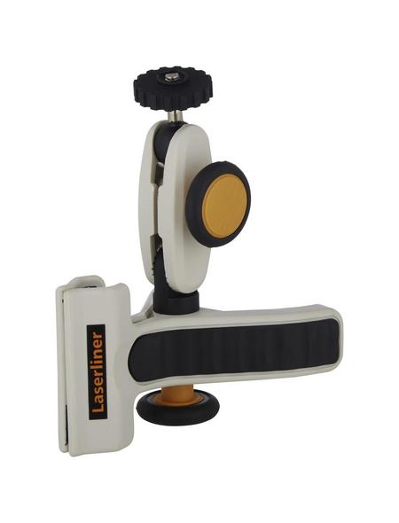 laserliner® Klemmhalter »Leica Lino«, grau/schwarz