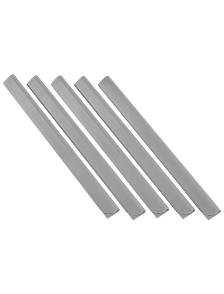 FLORAWORLD Klemmprofil »classic«, 25 Stück, Polyvinylchlorid (PVC), silbergrau