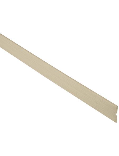 FN NEUHOFER HOLZ Knickwinkelleiste, Ahorn braun, MDF, LxHxT: 240 x 2,2 x 0,5 cm