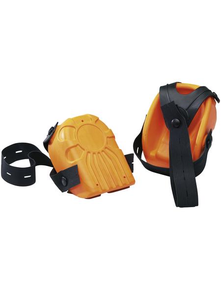 CONNEX Knieschützer Ergo-Fix orange/schwarz 2 St.